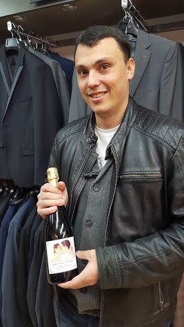 Champagne pour Mme et Mr VILLARD