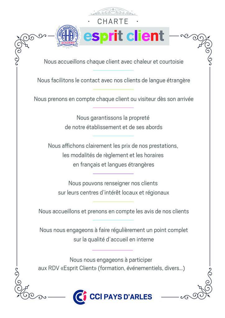 """La boutique Jean-François a signé la Charte  """"Esprit Client"""""""