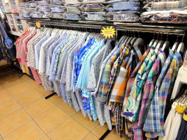 Profitez des beaux jours avec nos bermudas, chemisettes, pantalons, polos etc...