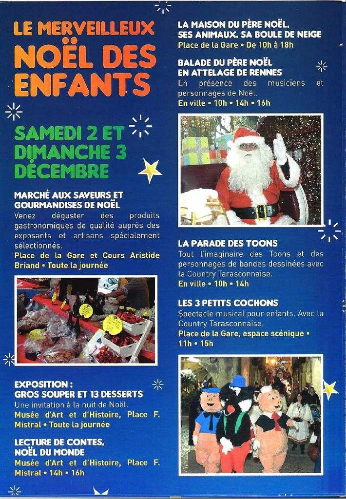 Le Marché aux Santons & Noël à Tarascon - Promos & Tombola chez Jean-François