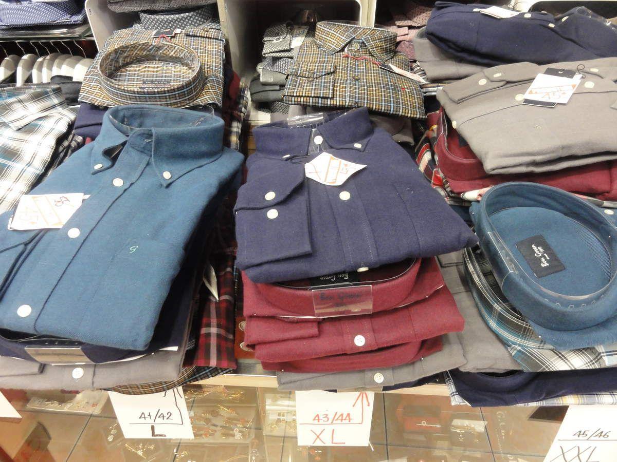 Chemises chaudes unies et à carreaux tout à 45€
