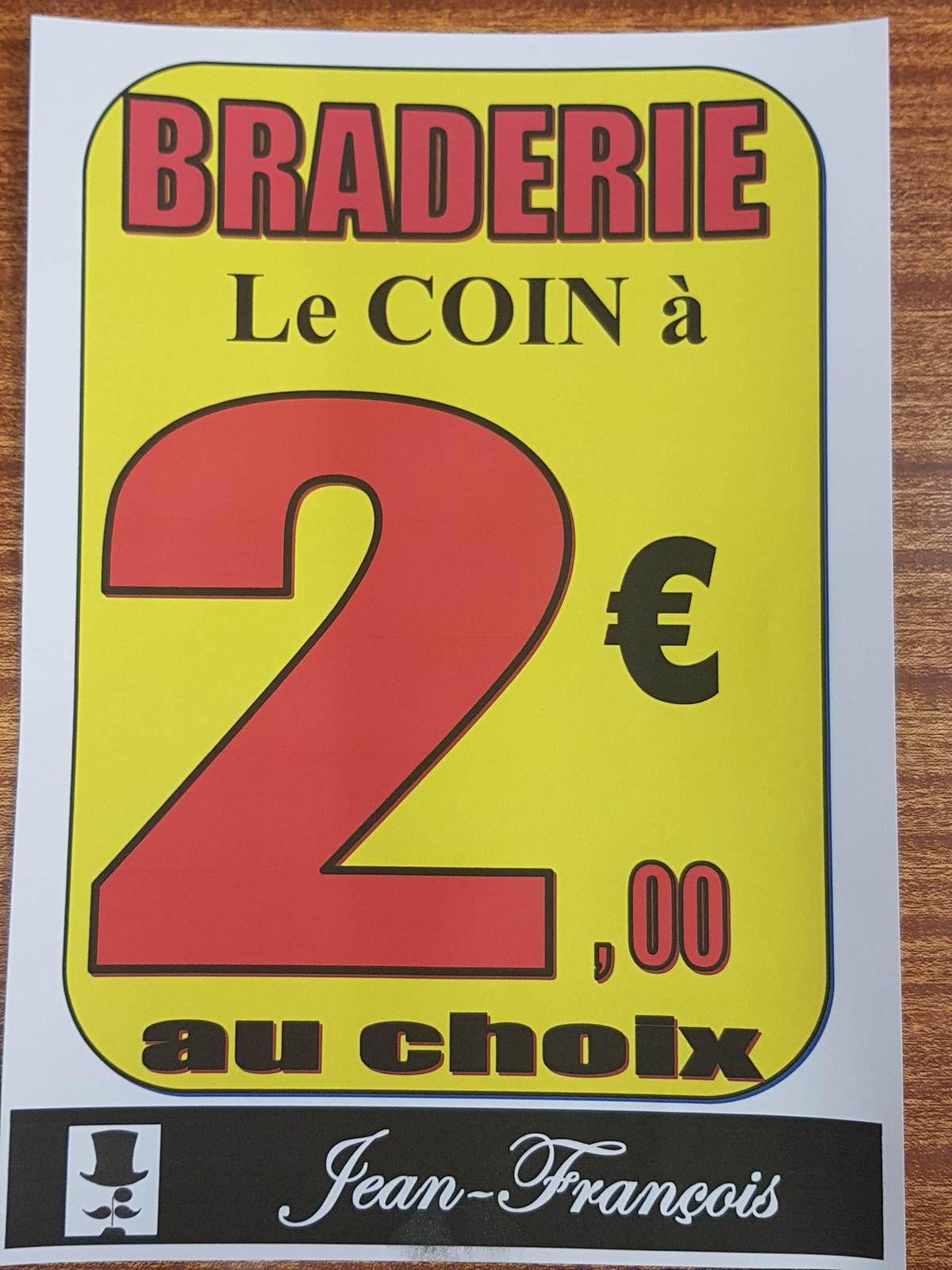 """La Braderie d'été """"Jean-François"""""""