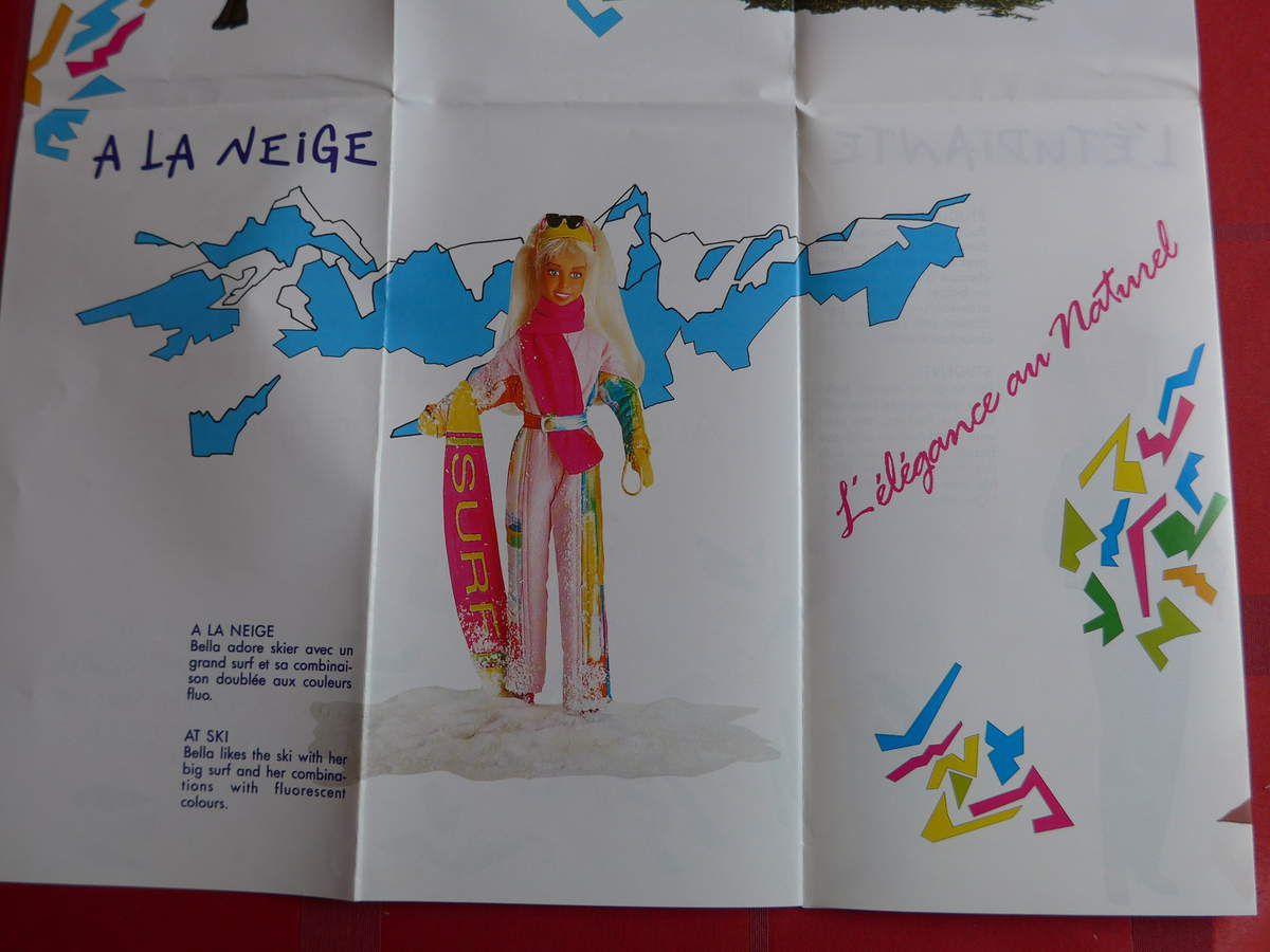 Catalogue poupée Bella : en 1990, Jouef imagine Bella la Vie, une petite soeur pour Tressy ?