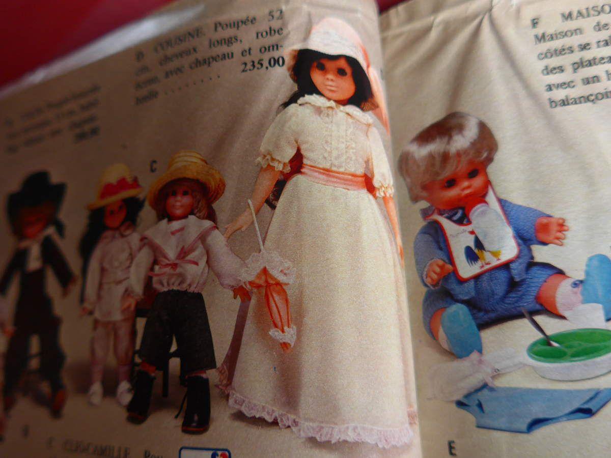Le prix d'une poupée Corolle en 1980 ; le prix d'un poupon Corolle en 1980