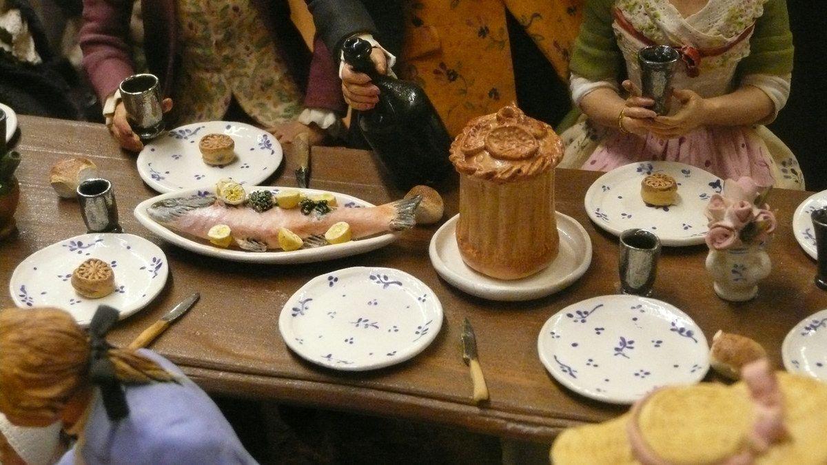 Le conservatoire du santon provençal à Arles : de la préparation culinaire à la table...