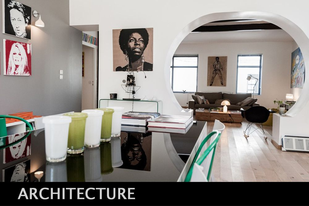"""Photographies d'architecture intérieure et extérieure, photographie """"classique"""" mais aussi HDRi, grand format...."""