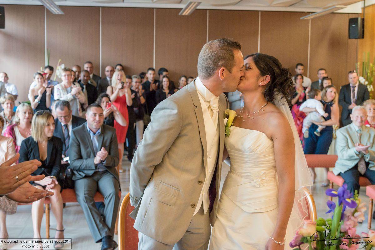 Reportage lors d'un mariage à Joué les Tours