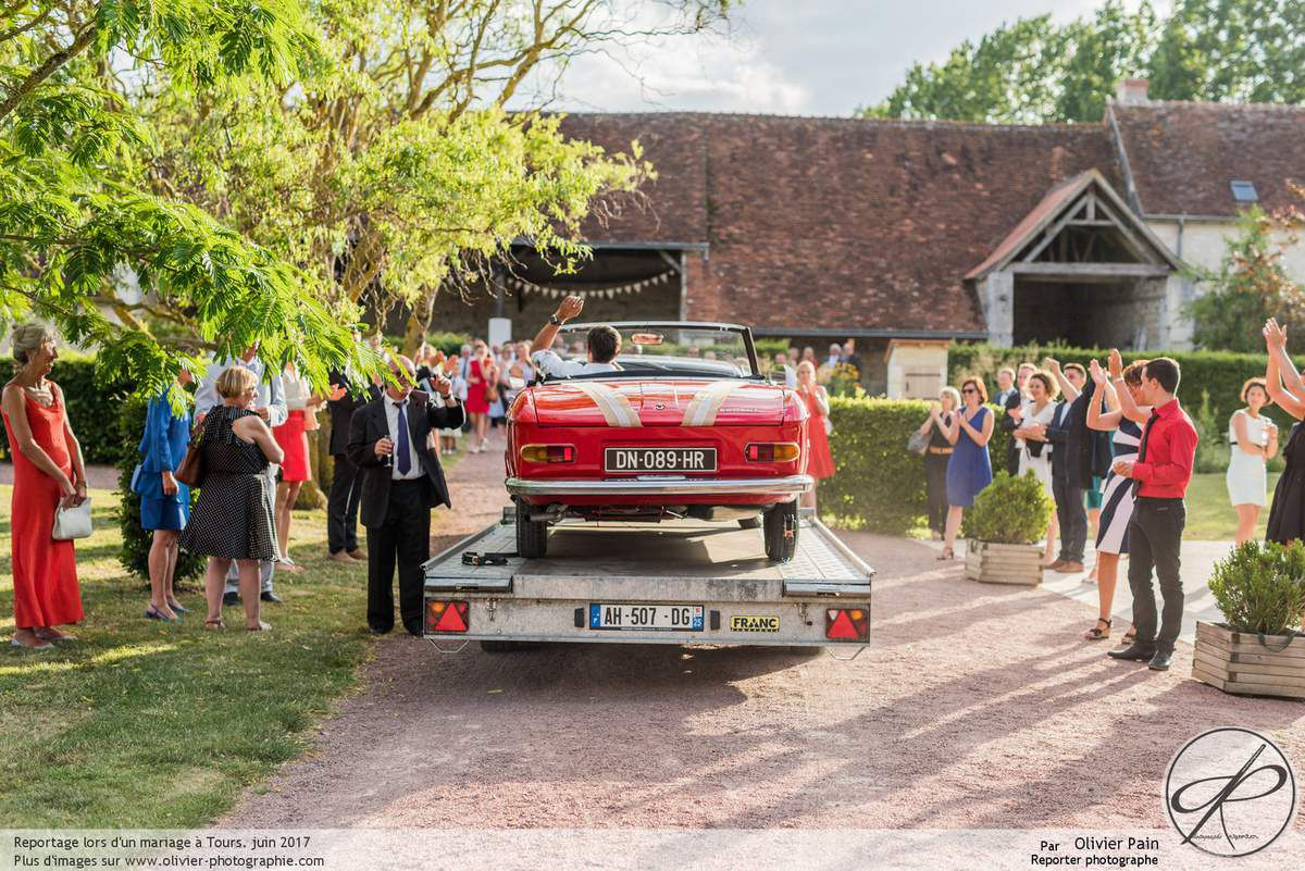 Reportage mariage à Tours