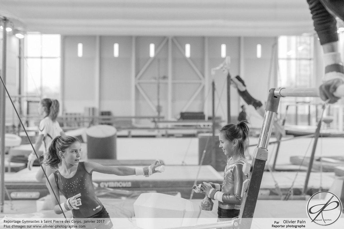 Reportage sur la gymnastique artistique à Tours