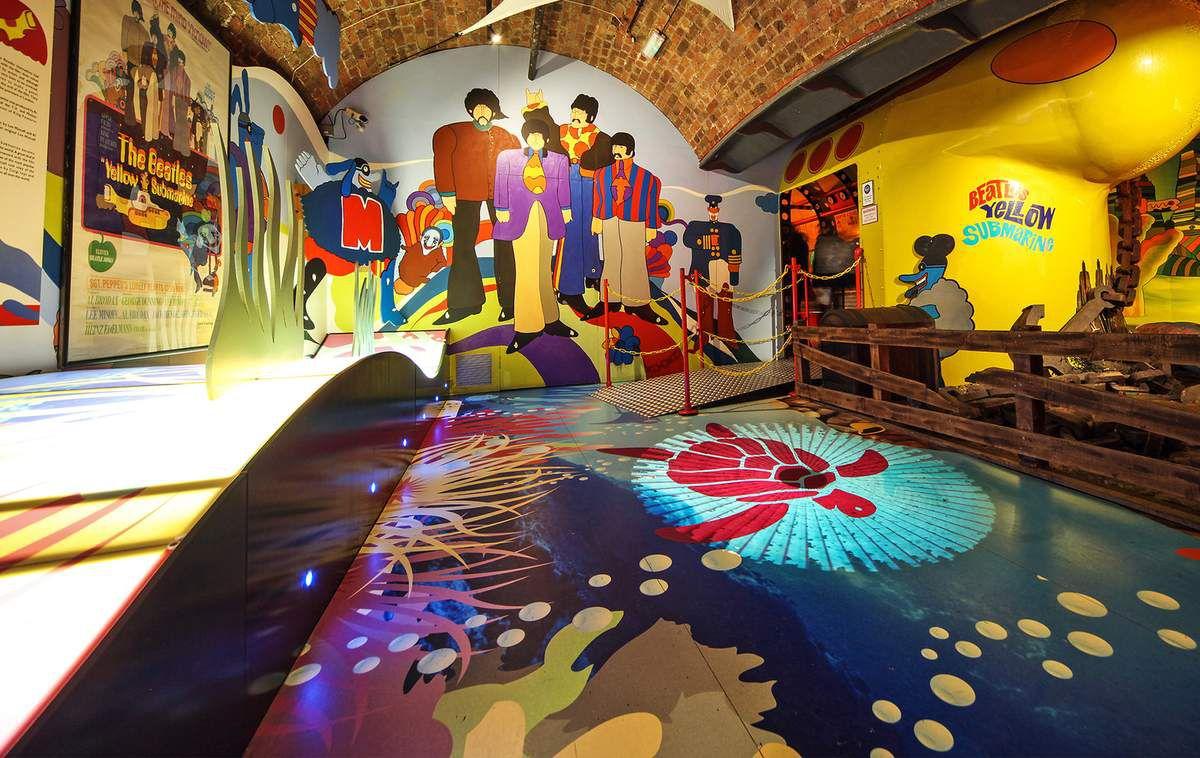 [Music] Le musée des Beatles à Liverpool