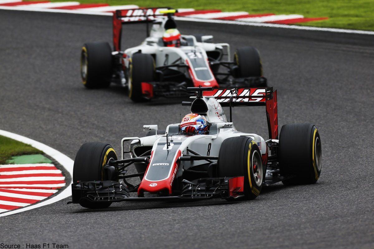 Les pilotes Haas vont courir devant le public américain
