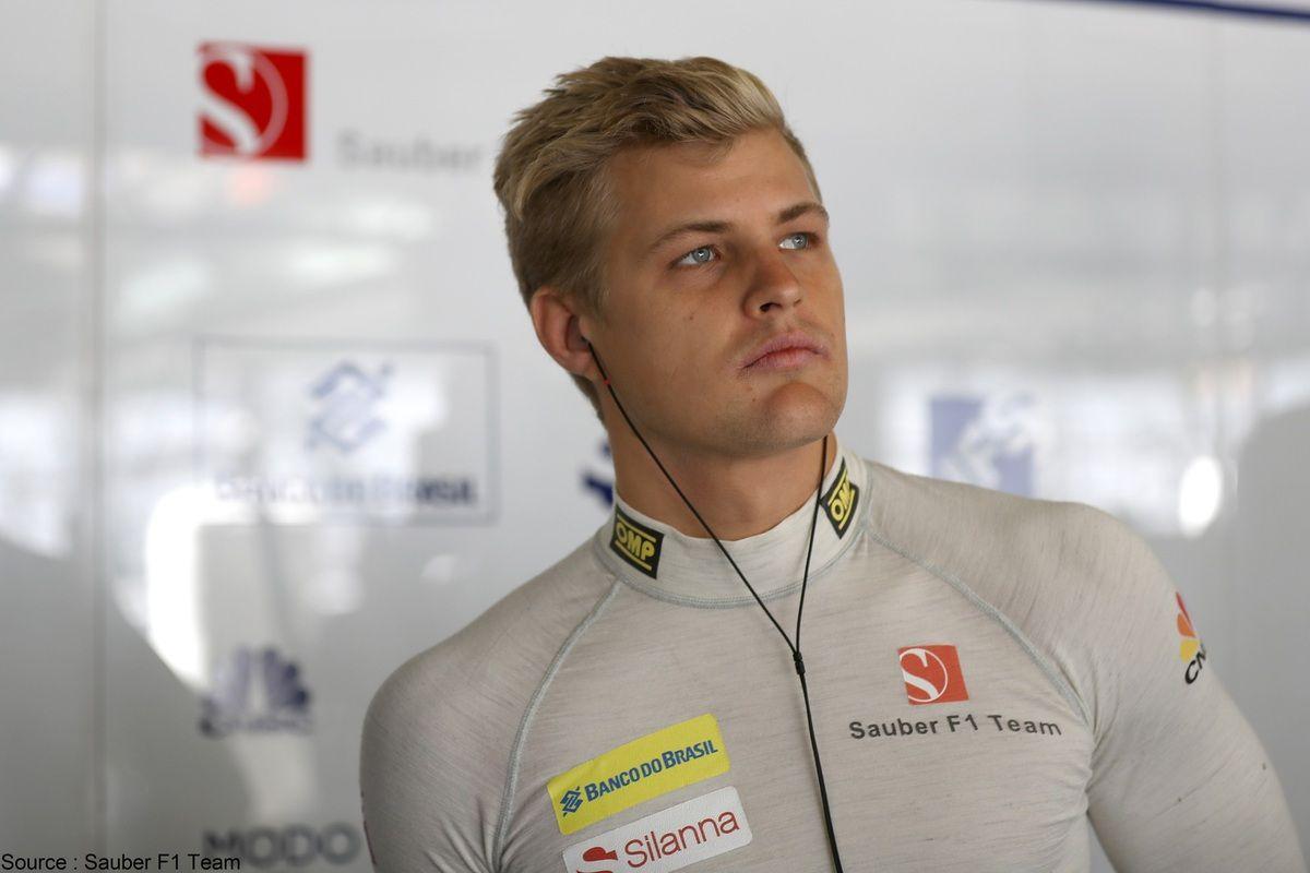 Troisième saison consécutive pour Marcus Ericsson chez Sauber