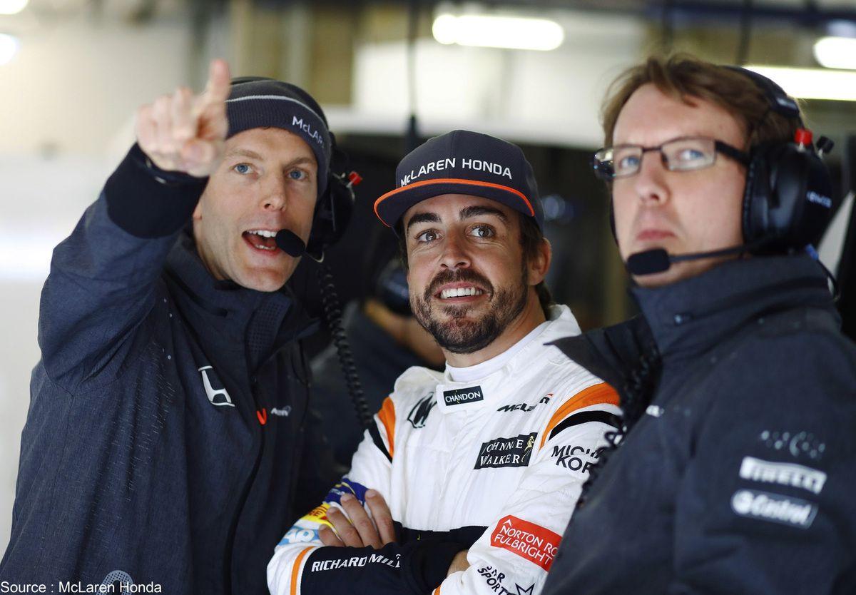 Fernando Alonso a le regard tourné vers de nouveaux défis