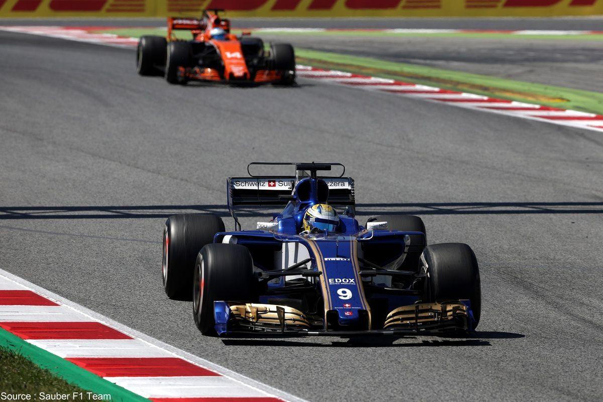 Encore trop tôt dans la saison pour que Sauber se concentre sur McLaren