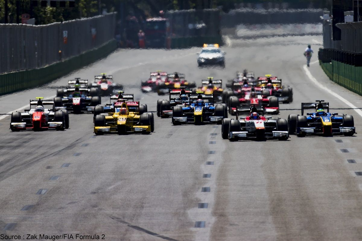 Les F2 entreront en piste plus tôt à Silverstone