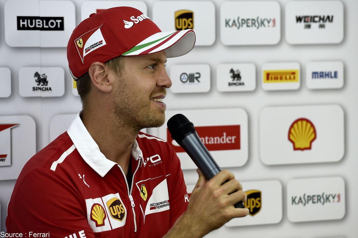 La parole de Sebastian Vettel a bien changé par rapport à jeudi