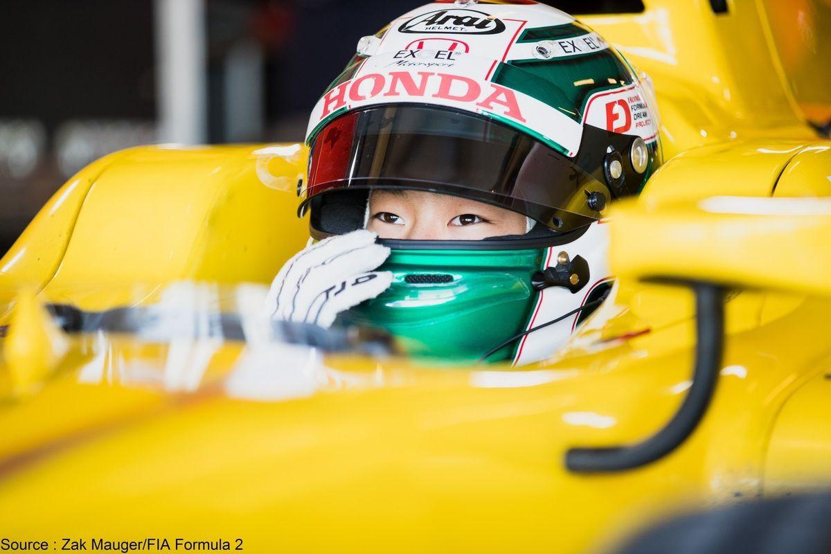 Nirei Fukuzumi sera en F2 avec Arden et en Super Formula
