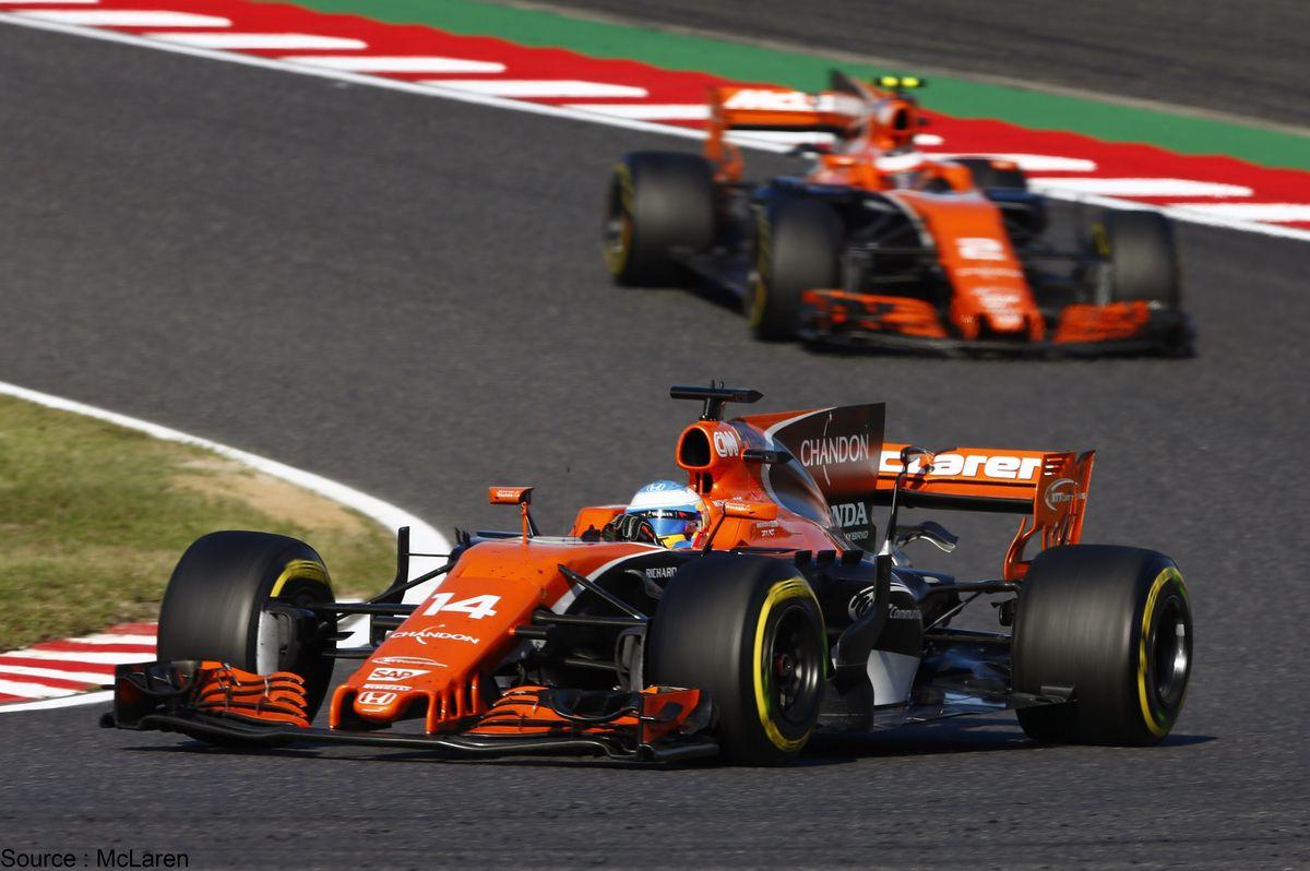 Changement en deux temps pour McLaren