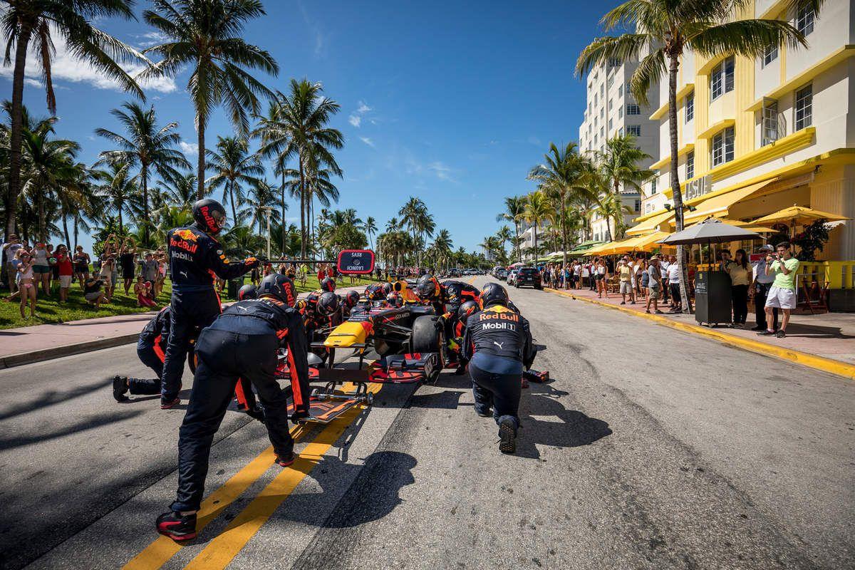 Difficile d'imaginer une course à Miami dans un futur proche