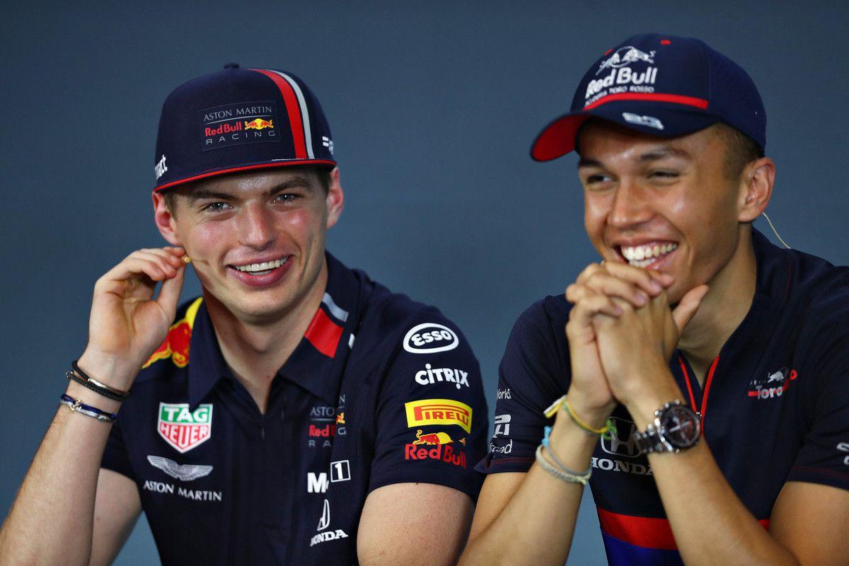 Red Bull Content Pool - Max Verstappen et Alex Albon porteront désormais les mêmes couleurs