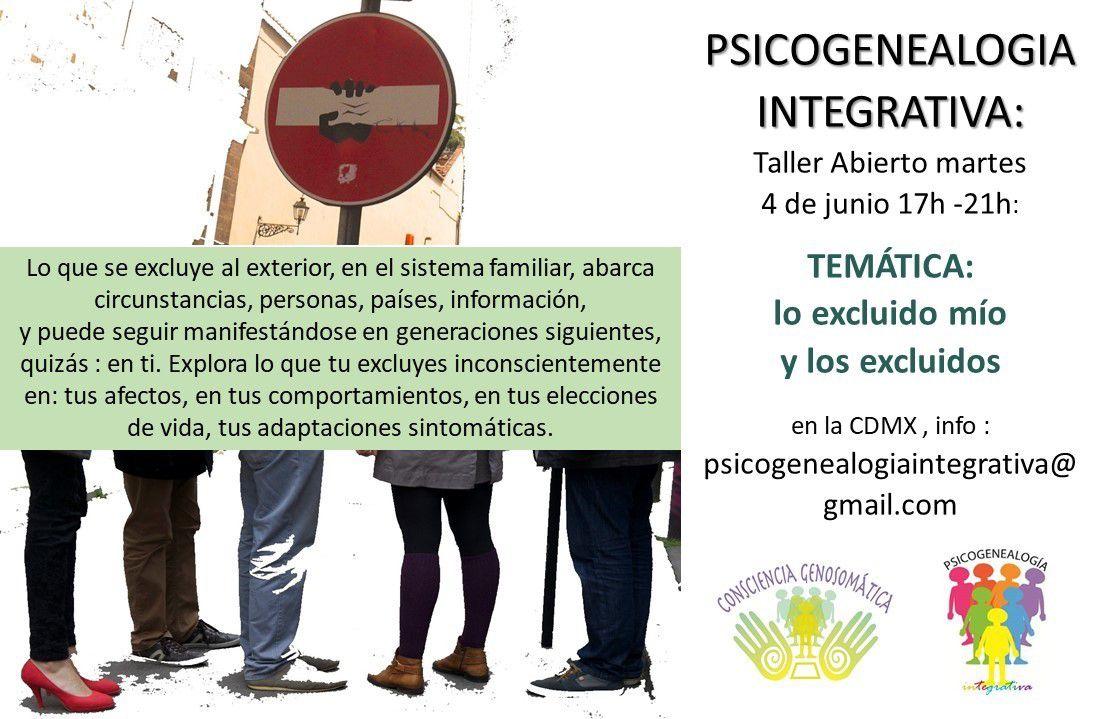 Para un martes de transformación, taller de psicogenealogía integrativa en la tarde👍🙏
