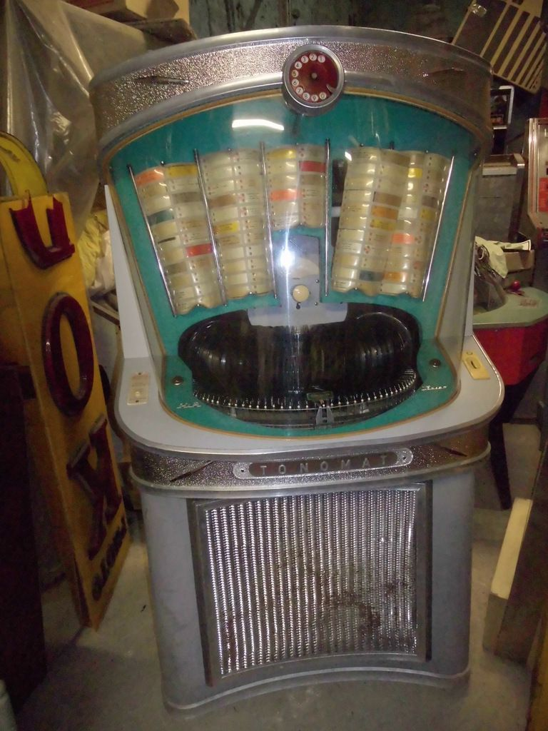 juke box allemand tonomat jeux de bistrot ancien jukebox flipper jeux forain. Black Bedroom Furniture Sets. Home Design Ideas