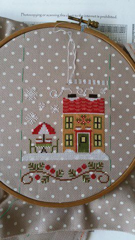 Un nouveau projet : Santa's Village de Country Cottage Needelworks
