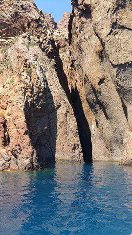 Corse : la réserve de Scandola