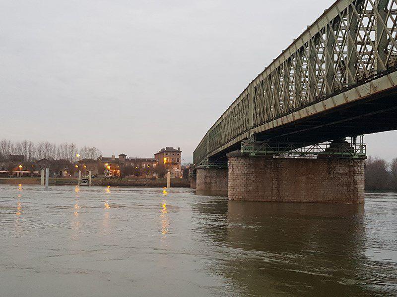 Crues de la Saône - Janvier  2018