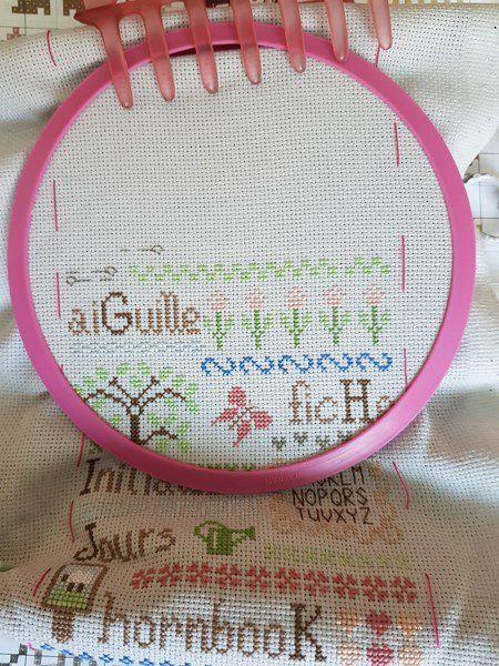 ABC de la Brodeuse - Jardin Privé - 4 et fin...