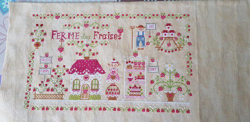 """Strawberry farm"" de Cuore et Batticuore - partie 5"