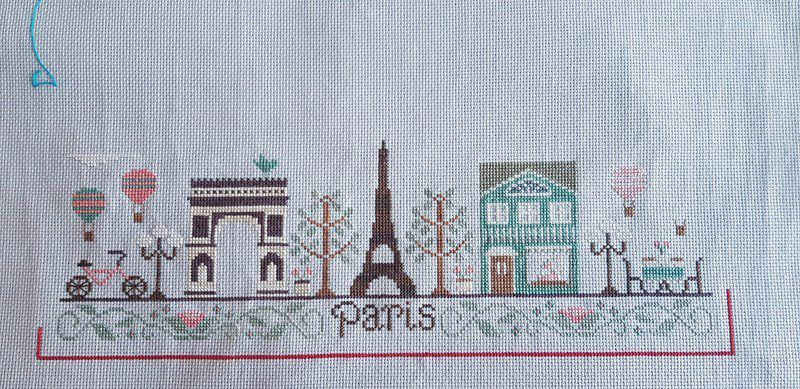 Paris By Country Cottage Needleworks - 3