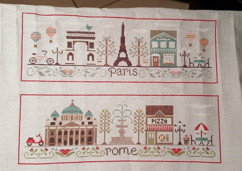 Rome, Paris, Londres By Country Cottage Needleworks - 4