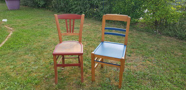 Restauration de chaises - fin