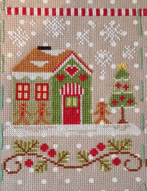 Santa's Village de Country Cottage Needelworks - 1