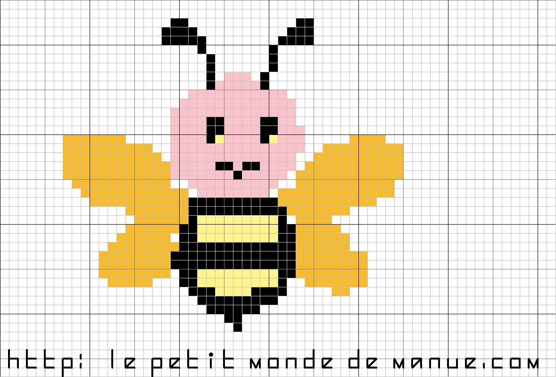 Grilles gratuites : Une abeille