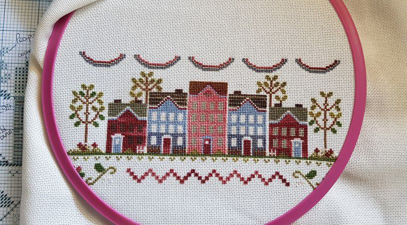 Liberty Lane de Country Cottage Needelworks - 5 et fin