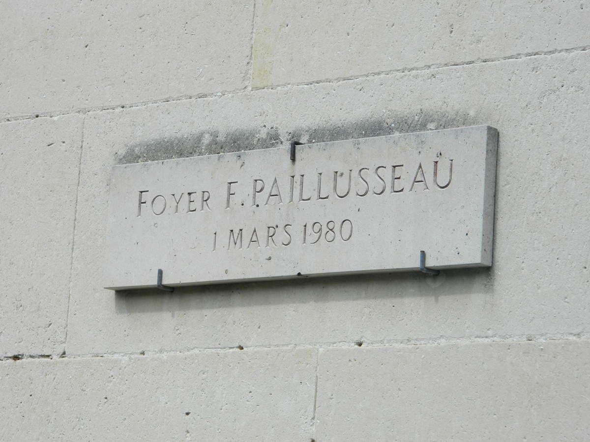 Au château de Marolles: le foyer Paillusseau