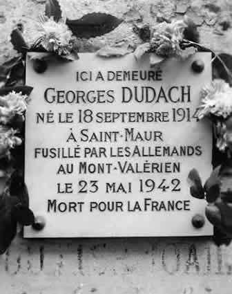 Hommage à Georges Dudach