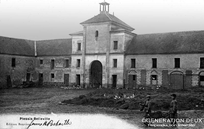 La ferme Bataille au Plessis-Belleville. Source: Génération deux