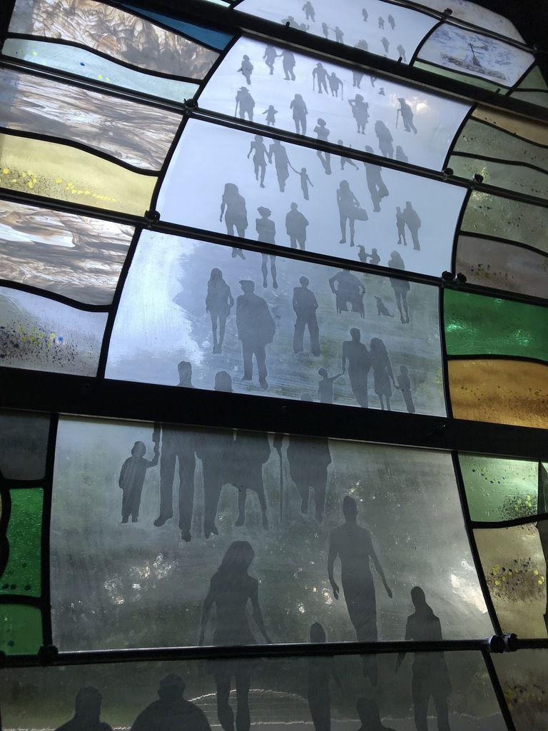 vitraux Bretagne création vitraux bretagne, verrier d'art paris