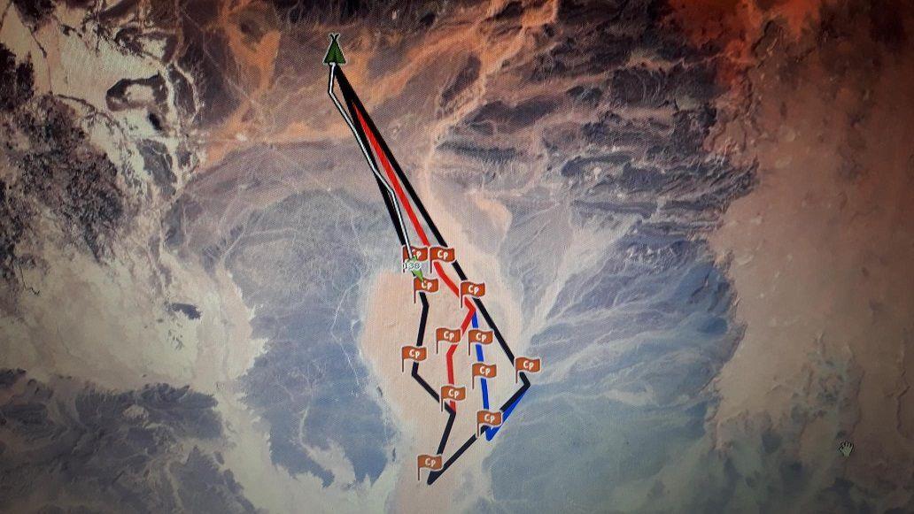 equipage 138 cecilia et nathalie étape 3 journée dunes