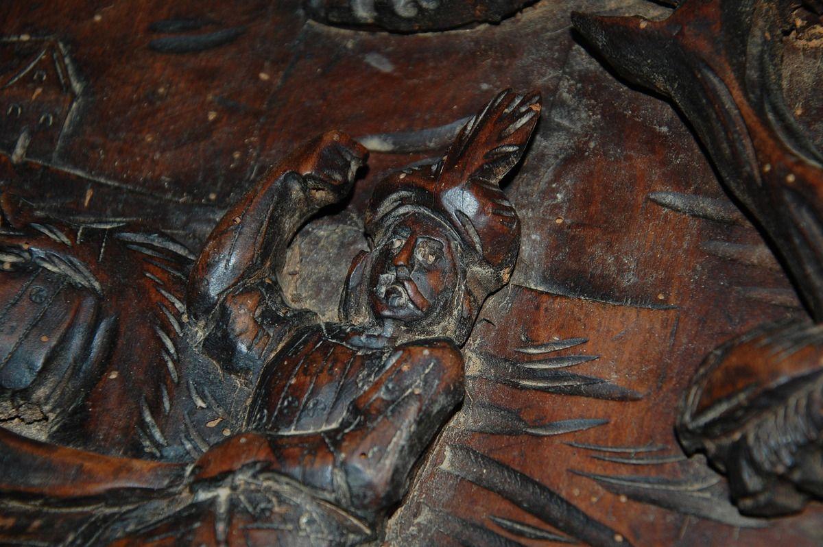 Nettoyage Carrelage Avec Relief nettoyage d'une sculpture en bois - le blog de séguié christian