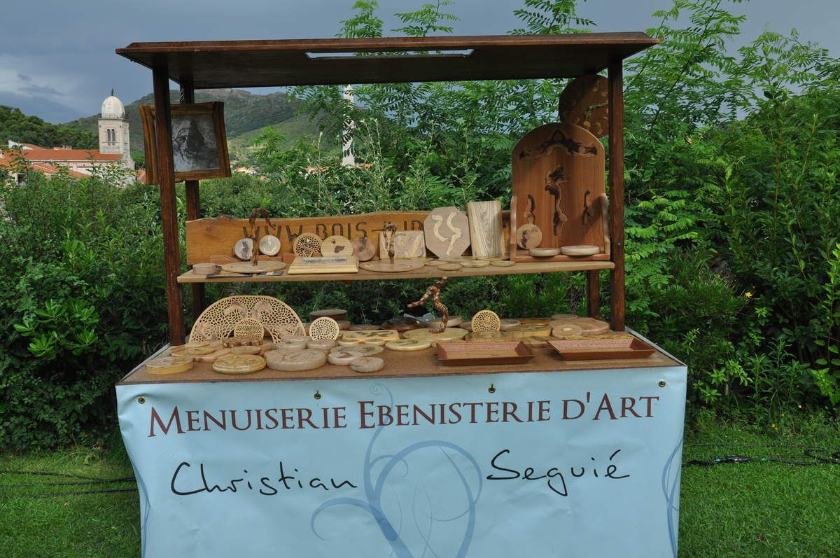 Mon stand.