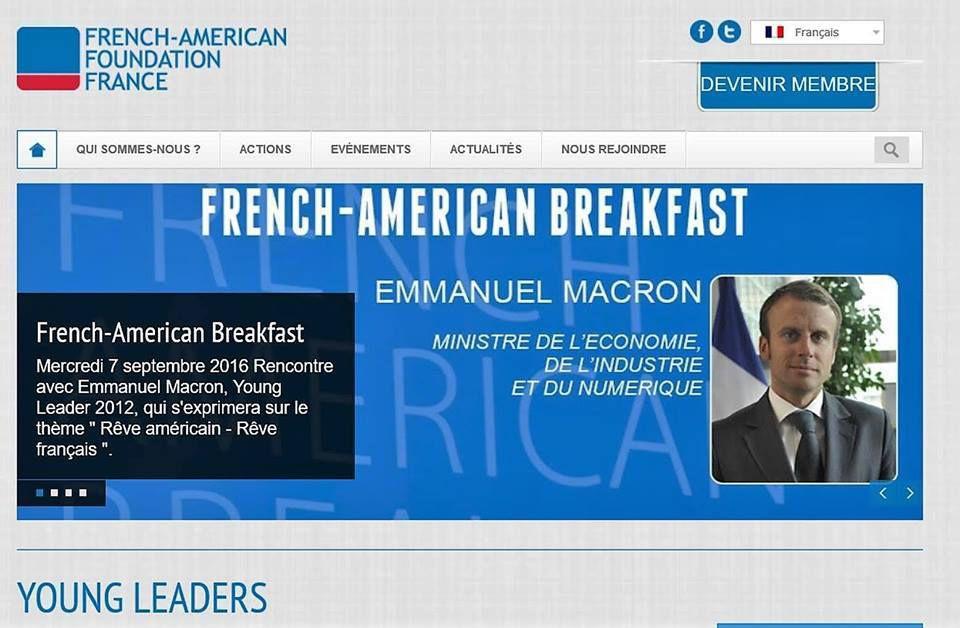 Et revoilà la FaF – French American Foundation : Macron, Edouard Philippe, Juppé, Hollande … même Classe, mêmes réseaux