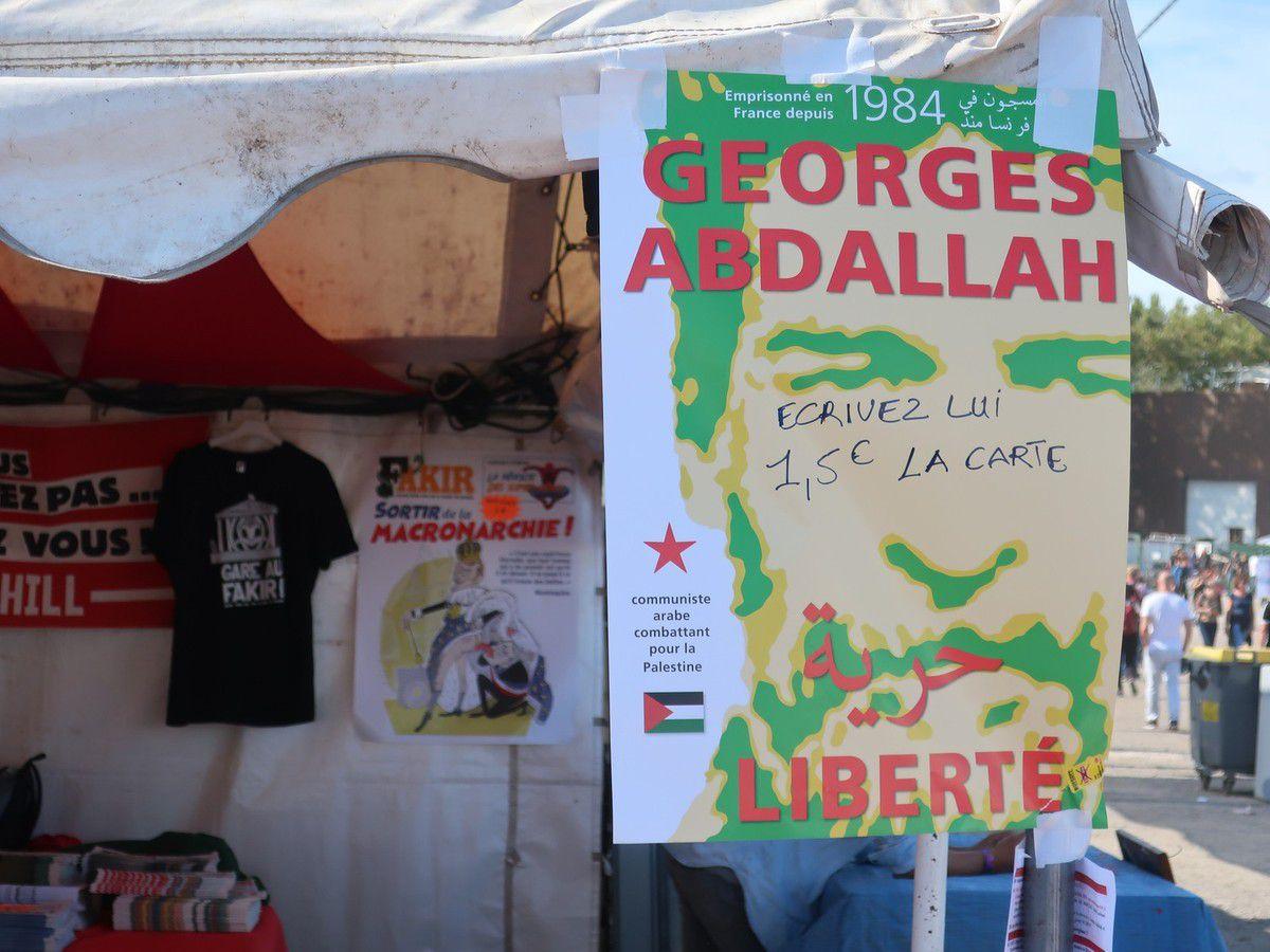Georges Abdallah - Fête de l'Humanité 2018