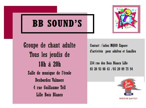 Atelier chant Lille Bois Blancs