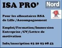 ISA PRO' Accompagnement allocataires du RSA Lille