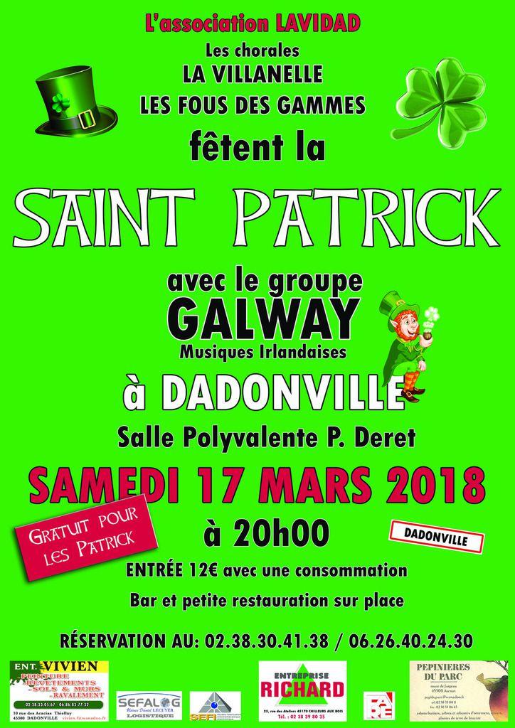St Patrick A Dadonville