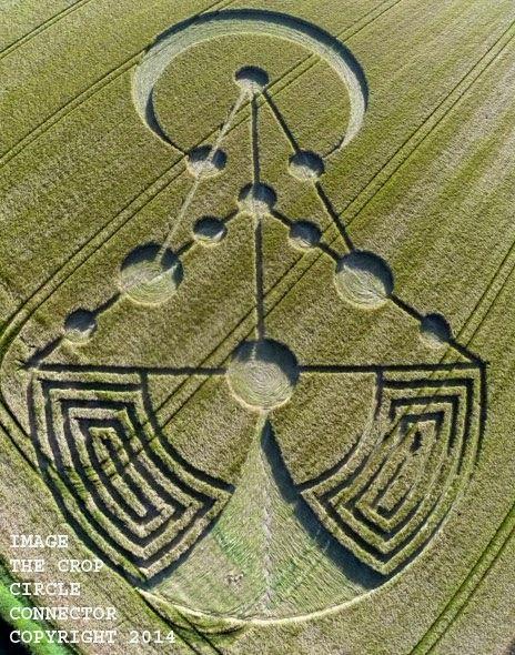 Nouveaux crop-circles